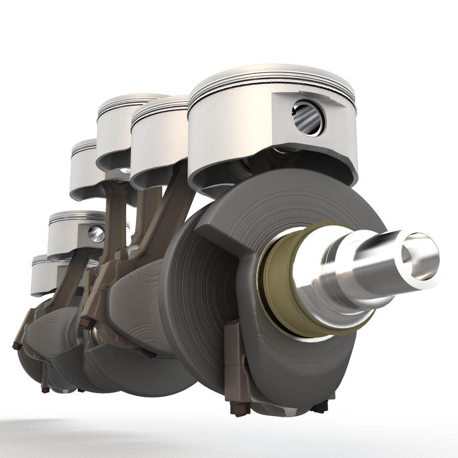 silnik royalty-free 3d model - Preview no. 5