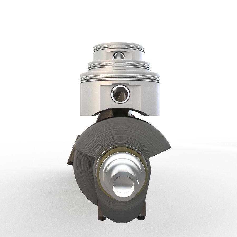 silnik royalty-free 3d model - Preview no. 3