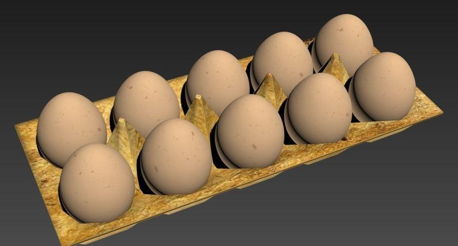 Eggs Set royalty-free 3d model - Preview no. 5