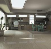 厨房(项目) 3d model