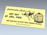Get Out Of Jail Free Card 3d model