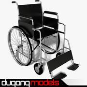 Инвалидное кресло 3d model