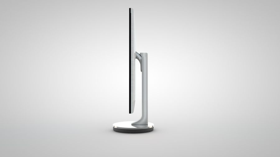 Samsungモニター royalty-free 3d model - Preview no. 4