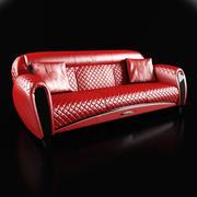 碳素伊莫拉沙发 3d model