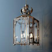 Forged lantern 3d model
