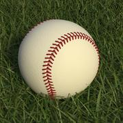 Baseball High Poly 3d model