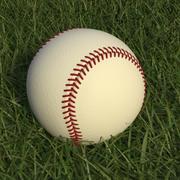 Baseball High Poly 3d model