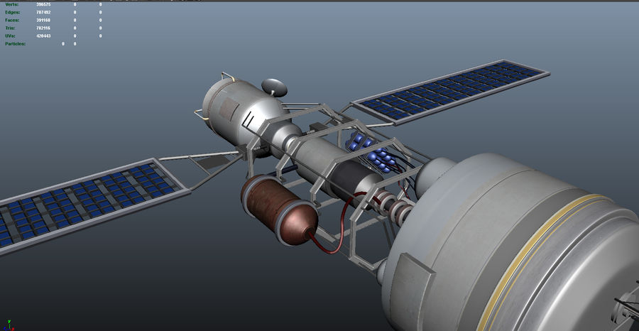 Satellitare royalty-free 3d model - Preview no. 4