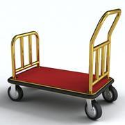 Wózek bagażowy 3d model