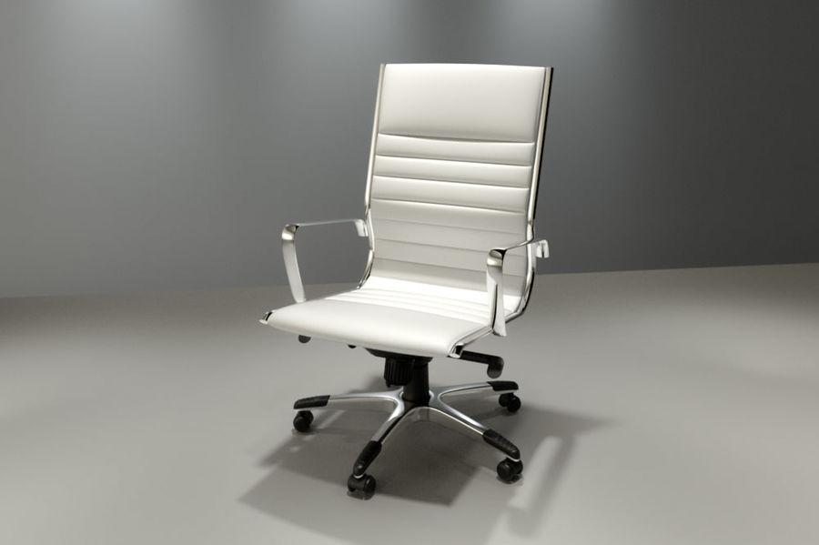 现代办公椅 royalty-free 3d model - Preview no. 1