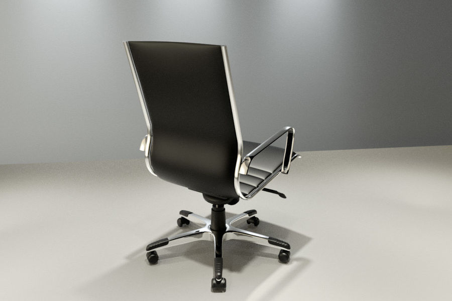 现代办公椅 royalty-free 3d model - Preview no. 2