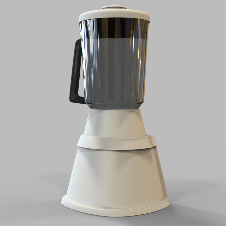 Blender Mixer royalty-free 3d model - Preview no. 6