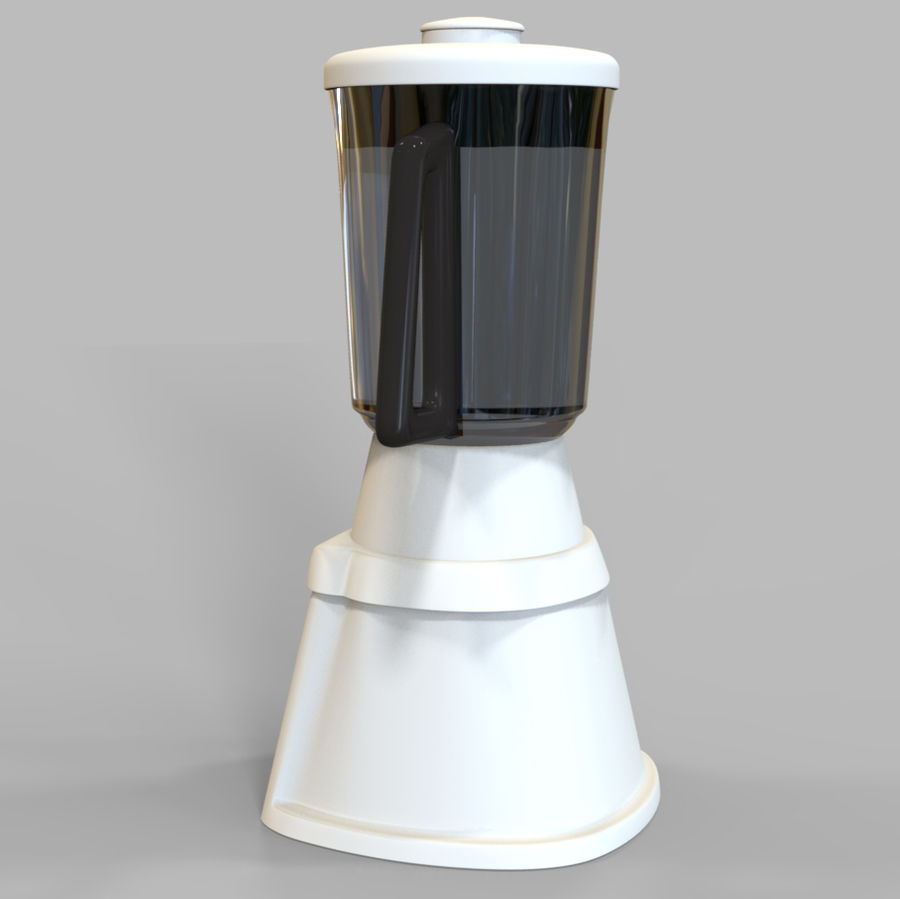 Blender Mixer royalty-free 3d model - Preview no. 4