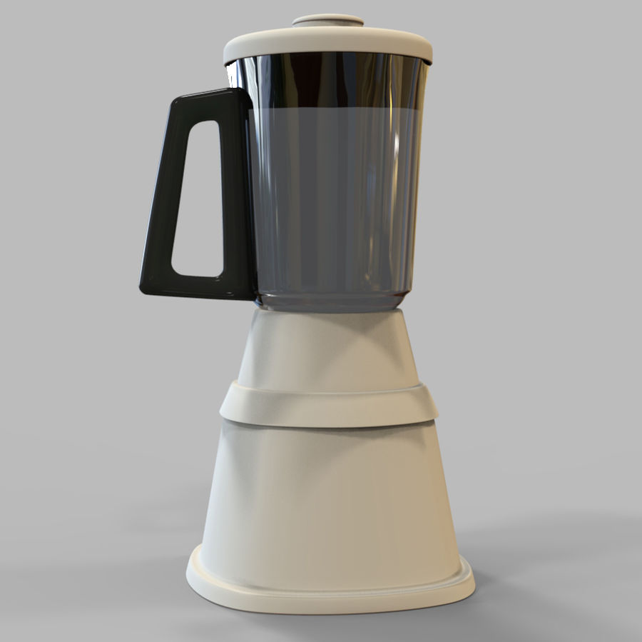 Blender Mixer royalty-free 3d model - Preview no. 5