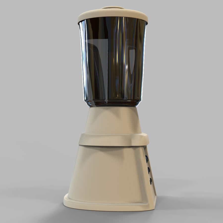 Blender Mixer royalty-free 3d model - Preview no. 7