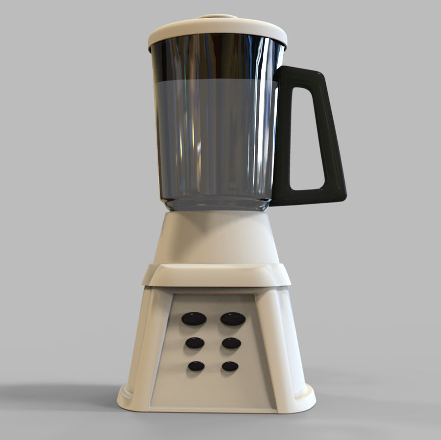 Blender Mixer royalty-free 3d model - Preview no. 8