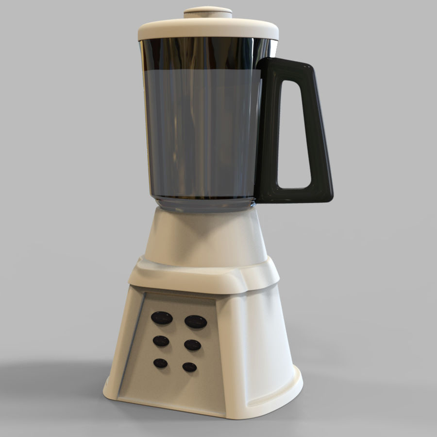Blender Mixer royalty-free 3d model - Preview no. 2
