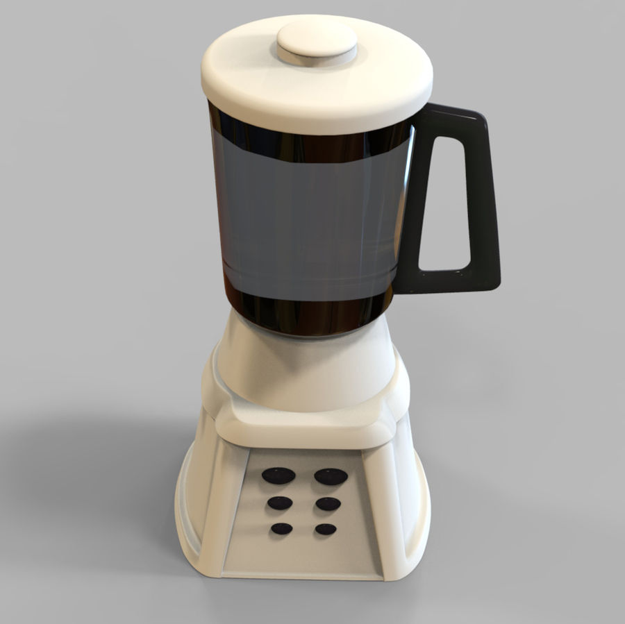 Blender Mixer royalty-free 3d model - Preview no. 9