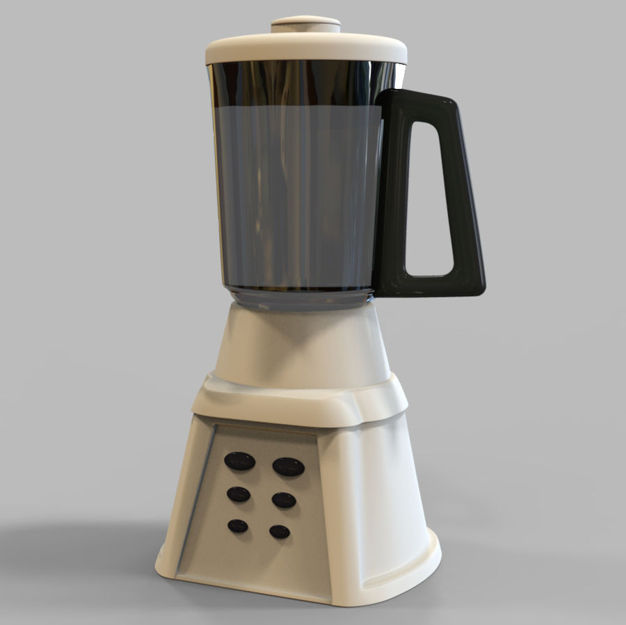 Blender Mixer royalty-free 3d model - Preview no. 1