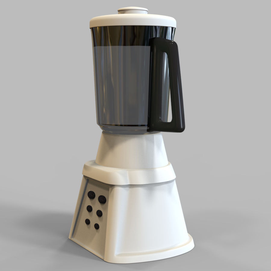 Blender Mixer royalty-free 3d model - Preview no. 3