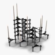 Nagel Candleholders 3d model
