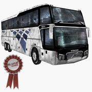 Volvo bus 3d model