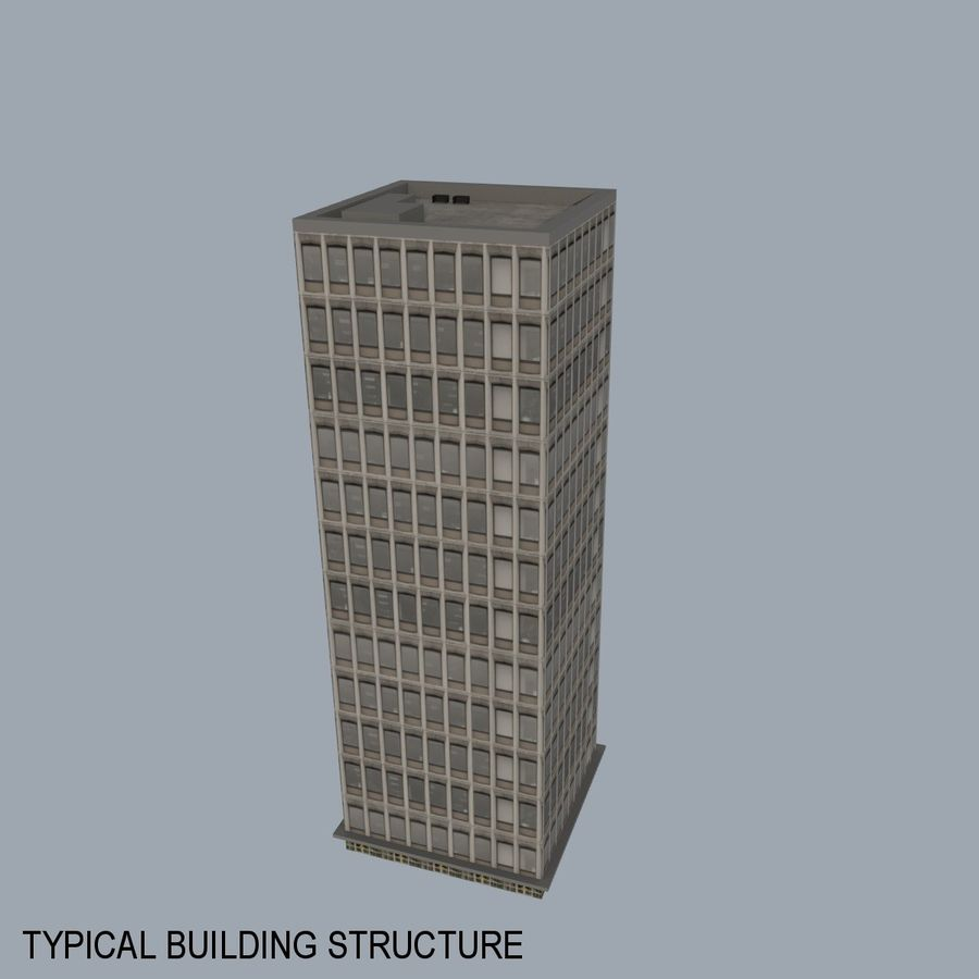 City Scape royalty-free 3d model - Preview no. 8