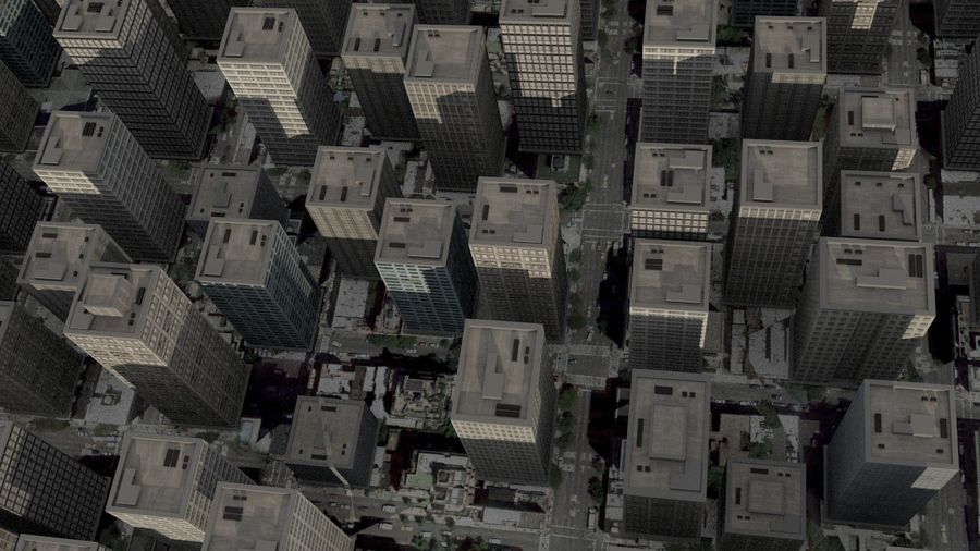 City Scape royalty-free 3d model - Preview no. 4