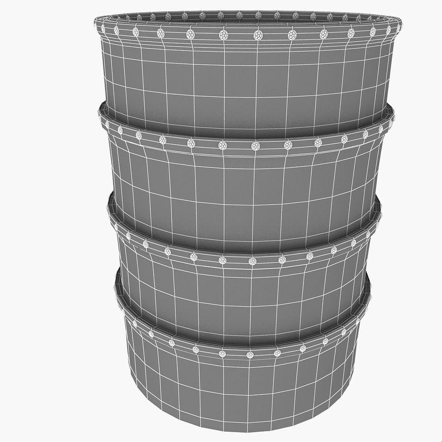 Metal Water Barrel royalty-free 3d model - Preview no. 21