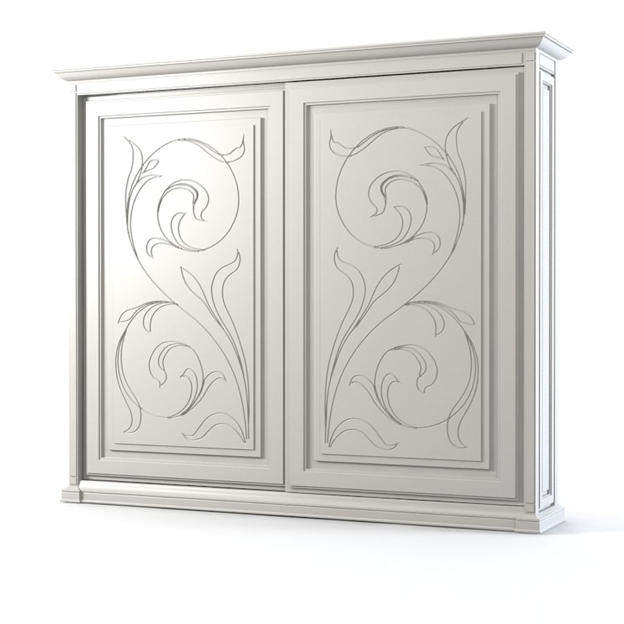Benedetti Mobilime Mediceo Armoire royalty-free 3d model - Preview no. 1