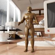 Статуэтка дьявола 3d model