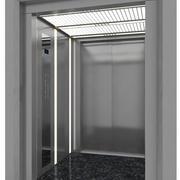 Doppeltür Aufzug 3d model