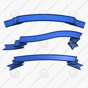 Bendable Banners 3d model