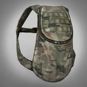 Army Backpack 3d model