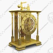 Reloj viejo modelo 3d