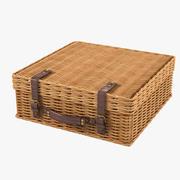 柳条手提箱 3d model