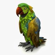 Parrot 3 3d model