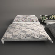 Bed Covers and Blanket 3d model