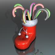 Santa Canes 3d model