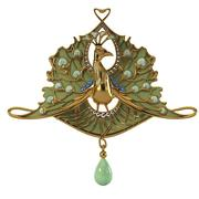 Ren Jules Lalique Peacock 3d model