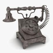 Telephone Decoration 3d model