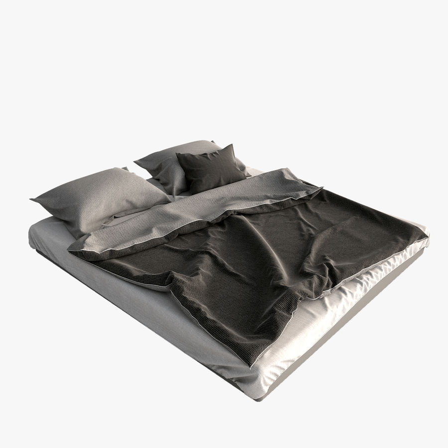 Bed Blanket royalty-free 3d model - Preview no. 1