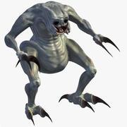 Criatura modelo 3d