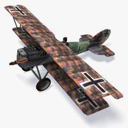 普法尔茨D.XII低聚 3d model