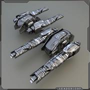 револьверная головка 3d model