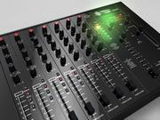 PM90 DJ PROFESSIONAL MIXER 3d model