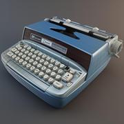 タイプライタースミスコロナオートマティック 3d model