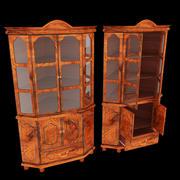 コーナー戸棚家具 3d model