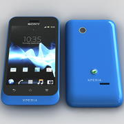 Sony Xperia Tipo Blue 3d model