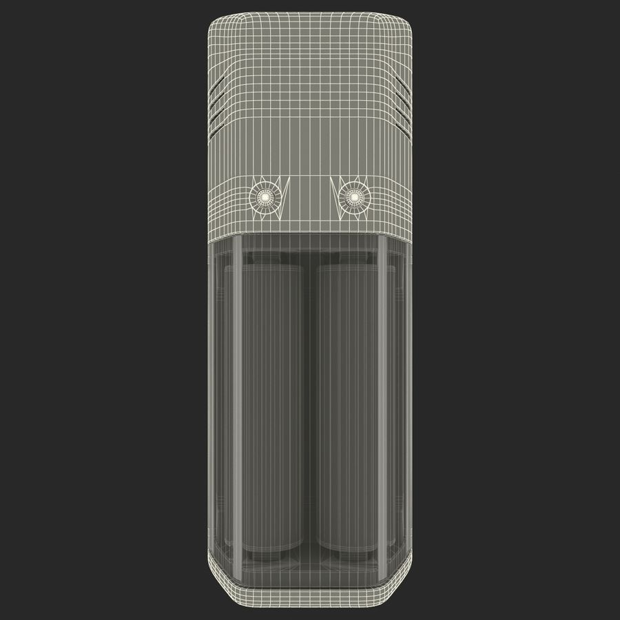 AAA Batteries Charger with Batteries royalty-free 3d model - Preview no. 17
